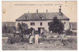 Villeneuve Le Comte , L'Hermitage , La Ferme - Frankreich