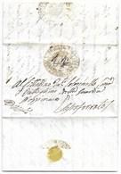 REPUBBLICA ROMANA - DA SASSOFERRATO PER CITTA' - 20.3.1849. - ...-1850 Voorfilatelie
