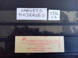 France.Carnet Moderne.Type Liberté De Delacroix. N°2376-C3. Neuf. - Usage Courant