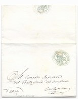 DA CIVITANOVA PER CITTA' - 6.2.1849 - RARA. - ...-1850 Voorfilatelie