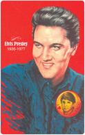 ELVIS PRESLEY ROCK & ROLL POP MUSIC SINGER USA KOMAR LASZLO * CALENDAR * MMN 0075 * Hungary - Calendriers