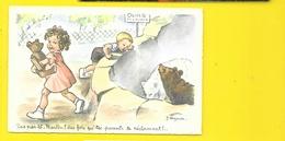 J. Lagarde Martin Au Zoo Ours Polaires ((656/5) - Künstlerkarten