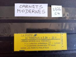 France.Carnet Moderne.Type Liberté De Delacroix. N°2376-C4. Neuf++  Côte YT 2020 : 18,00 € - Usage Courant