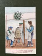 Peigneur De Laine Ardennais, 1830 - Francia