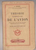 Aviation   Théorie élémentaire De L'avion   1921 - Avión