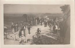 30 NIMES  CARTE PHOTO   COURSE CYCLISTE  11 JUILLEY 1920 - Nîmes