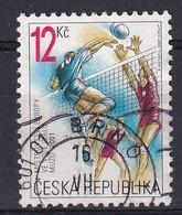 Czech Republic 2001, Sports Volleyball Minr 290 Vfu - Repubblica Ceca
