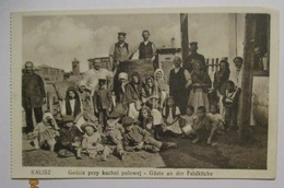 Polen Kalisz, Kinder Und Frauen An Der Feldküche (7353) - Weltkrieg 1914-18