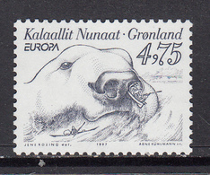 Greenland MNH Michel Nr 309 From 1997 / Catw 2.50 EUR - Groenland