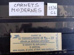 France.Carnet Moderne.Type Liberté De Delacroix. N°2376-C1. Neuf. - Usage Courant