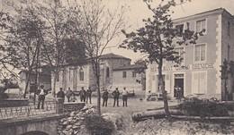 BEURRIERES Pont Et Place De L Eglise - France