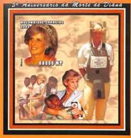 [36919]TB//ND/Imperf-Mozambique 2002 - ND/Imperf - Célébrité, Princesse, Croix-Rouge - Lady Diana. - Mosambik