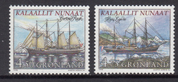 Greenland MNH Michel Nr 327/28 From 1998 / Catw 3.50 EUR - Groenland