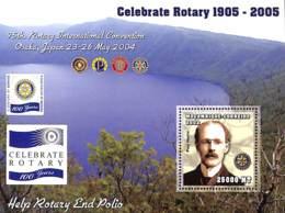 [37741]SUP//**/Mnh-Mozambique 2002 - Rotary, Célébrations - Paul Harris. - Mozambique