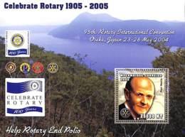 [37747]SUP//**/Mnh-Mozambique 2002 - Rotary, Célébrations - Paul Harris. - Mozambique