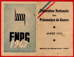 -- FEDERATION NATIONALE DES PRISONNIERS DE GUERRE /ASSOCIATION DU CHER / SECTION DES AIX D'ANGILLON -- - Documenten