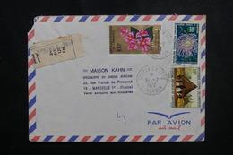 CAMEROUN - Enveloppe En Recommandé De Douala Pour Marseille En 1972, Affranchissement Plaisant - L 50146 - Kamerun (1960-...)