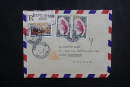 CAMEROUN - Enveloppe En Recommandé De Bafoussam Pour Marseille En 1974, Affranchissement Plaisant - L 50147 - Kamerun (1960-...)