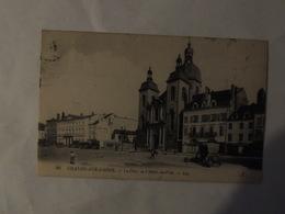CHALON SUR SAONE/ LA PLACE DE L HOTEL DE VILLE/ DEPARTEMENT 71 - Chalon Sur Saone