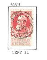 REF226/ TP 74 (GB) Coba T2 L C.Relais - Etoile Asch 10-11 / 18 / SEPT / 1911 - 1905 Grosse Barbe
