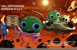 TELECARTE 50 UNITES  ALLO DEPANNAGE 200000 CABINES... - France