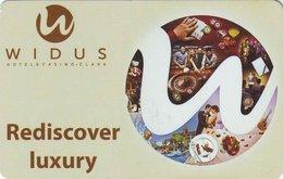 FILIPPINE KEY  HOTEL   Widus Hotel & Casino Clark - Rediscover Luxury - Hotelkarten