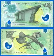 Papouasie Nouvelle Guinee 2 Kina 2007 Neuf UNC Polymere Billet Paypal Bitcoin OK - Papouasie-Nouvelle-Guinée