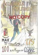 Modena, 14.5.1999, Accademia Militare, 179° Corso, Mak P.100 Osare. - Militari