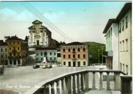 LUGO  VICENZA  Piazza 25 Aprile  Chiesa  Sali E Tabacchi  Vespa Lambretta - Vicenza