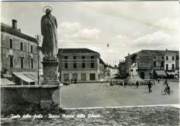 ISOLA DELLA SCALA  VERONA  Piazza Martiri Della Libertà  Statua  Monumento  Insegna Cristofoli  Farmacia - Verona