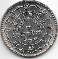 *nepal  1 Rupee VS2036 Km 828a  Bu/ms65 - Népal