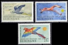 1971Surinam593-595Birds4,50 € - Specht- & Bartvögel