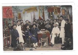 CPMJ3628 TONKIN HANOI ELECTION D UN CHEF DE RUE - Viêt-Nam