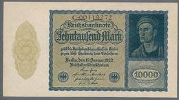 Pick 72 Ro69b DEU-78b 10000 Mark 1922 UNC ! - [ 3] 1918-1933 : República De Weimar