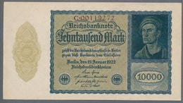 Pick 72 Ro69b DEU-78b 10000 Mark 1922 UNC ! - 1918-1933: Weimarer Republik