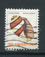 SINGAPOUR- Y&T N°266- Oblitéré (coquillages) - Singapour (1959-...)