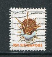 SINGAPOUR- Y&T N°268- Oblitéré (coquillages) - Singapour (1959-...)