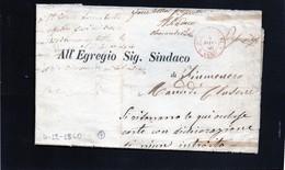 CG1 - Como - Doppio Cerchio Sardo Ital  Per Stampati Franchi - Per Fiumenero 4/12/1860 - 1. ...-1850 Prephilately
