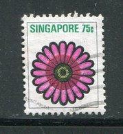 SINGAPOUR- Y&T N°196- Oblitéré - Singapour (1959-...)