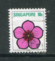 SINGAPOUR- Y&T N°190- Oblitéré - Singapour (1959-...)