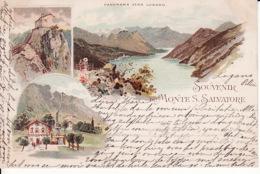 2785147Souvenir Du Monte S Salvatore (poststempel 1897) - TI Ticino