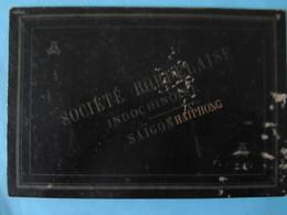 1900 Sous-main Société Bordelaise Indochinoise Saïgon Haïphong - Publicités