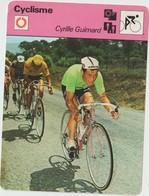 Vieux Papier : Fiche   Vélo - Cyclisme : Cyrille   Guimard , Mercier - Unclassified