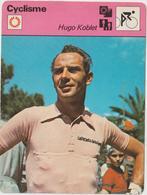Vieux Papier : Fiche   Vélo - Cyclisme : Hugo   Koblet - Unclassified