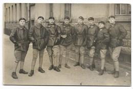 CARTE PHOTO-Groupe De Militaires Du 507e Régiment De Char... - Reggimenti