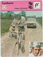 Vieux Papier : Fiche   Vélo - Cyclisme : Felice  Gimondi - Unclassified