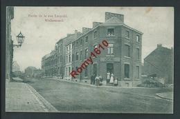 Welkenraedt. Maison Schyns, Rue Léopold, En 1909. Belle Carte Animée. 2 Scans - Welkenraedt