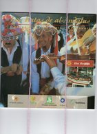 Las Rutas De Al-Andaluz Fiestas Gastronomia Artisania Malaga  Velez Rincon Benagalbon Totalan  200gr 70 Paginas 50 Fotos - Cultura