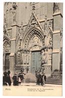 Metz-Hauptportal Der St Segolenakirche,Nel Couleur Série 104 No 271 - Metz