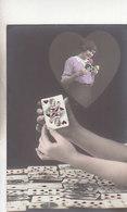 Série De 6 Cartes Avec Cartes Deu Jeu - Col.à La Main             (A-158-190723) - Cartes à Jouer